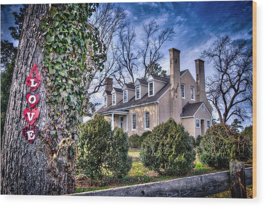 Love Windsor Castle Wood Print by Williams-Cairns Photography LLC
