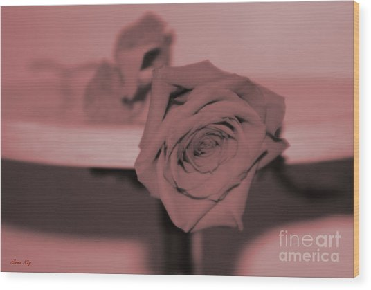 Love You... Wood Print