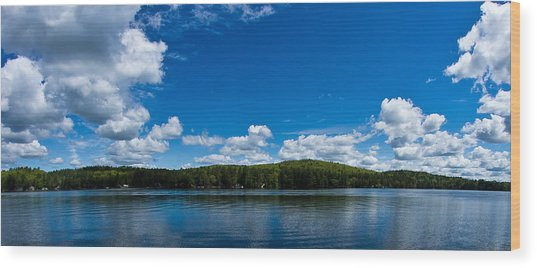 Lovell Lake Afternoon Wood Print