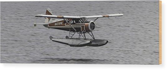 Low Flying Plane 003 Wood Print