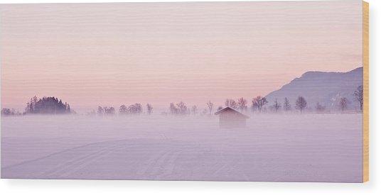 Low Fog Wood Print