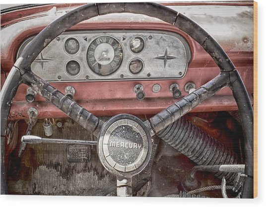 Wood Print featuring the photograph Low Mileage Mercury by Trever Miller