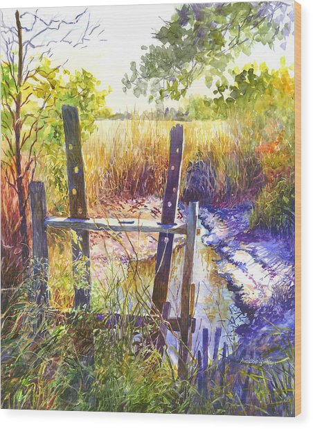 Lowcountry Legacy Wood Print by Alice Grimsley