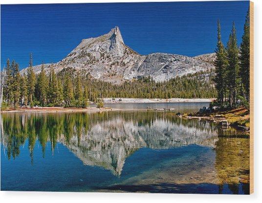 Lower Cathedral Lake Wood Print