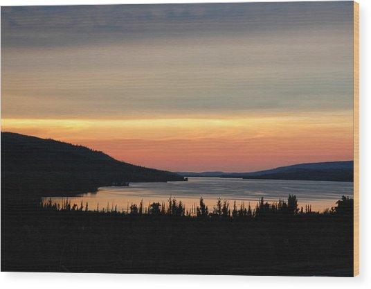 Lower Lake St. Mary Wood Print