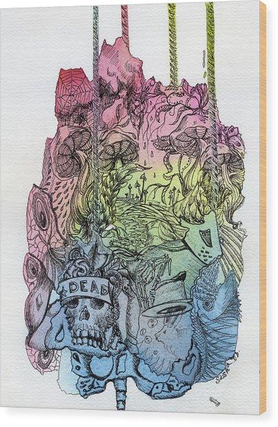 Lucid Mind - 11 Wood Print