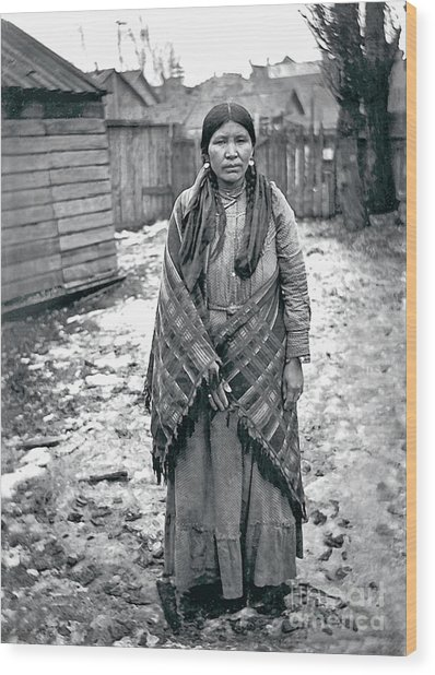 Lucy From The Yakama Tribe 1912 Wood Print