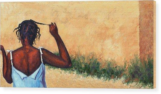 Lucie In Haiti Wood Print