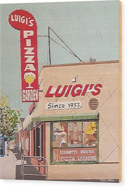 Luigi's Wood Print by Paul Guyer