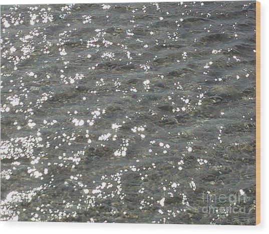Luminary Sea Wood Print by Katerina Kostaki
