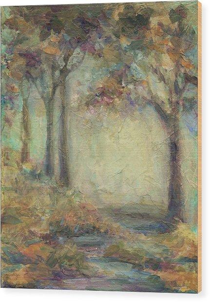 Luminous Landscape Wood Print