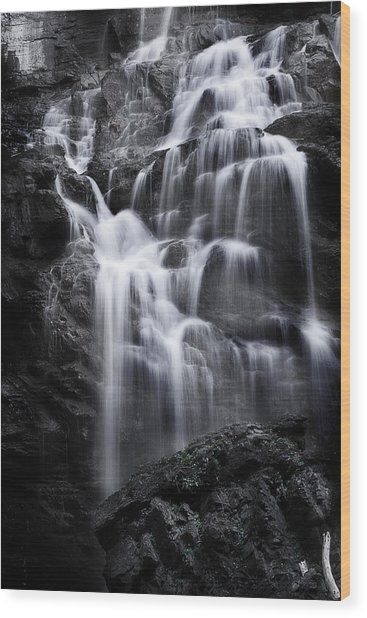 Luminous Waters Wood Print
