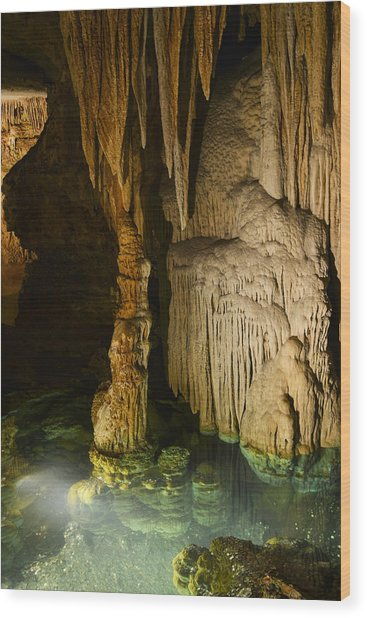 Luray Cavern Wood Print