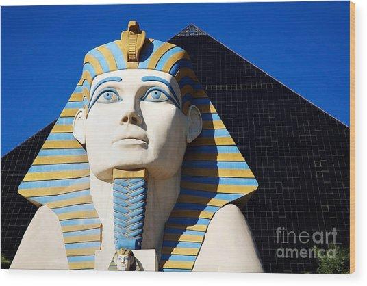 Luxor Las Vegas Sphinx Wood Print
