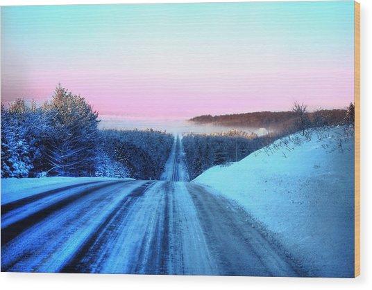 Lwv50007 Wood Print by Lee Wolf Winter