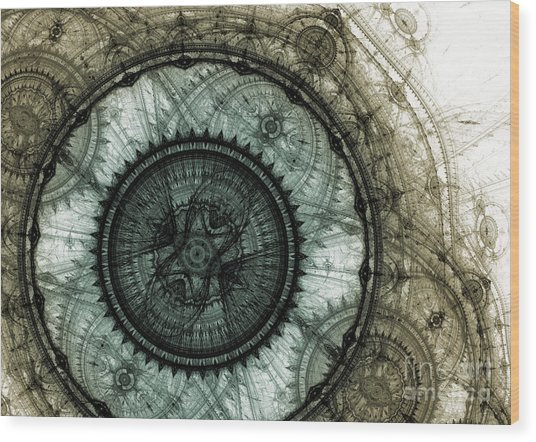 Machinist's Dream Wood Print