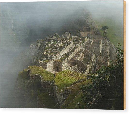 Machu Picchu Peru 2 Wood Print