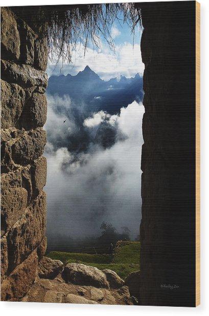 Machu Picchu Peru 4 Wood Print