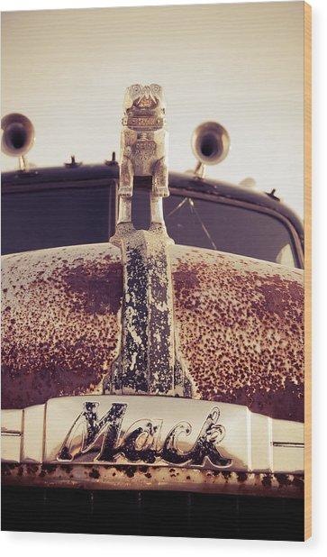 Mack Headshot Wood Print
