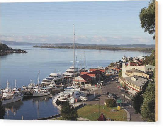 Macquarie Harbour Tasmania All Profits Go To Hospice Of The Calumet Area Wood Print