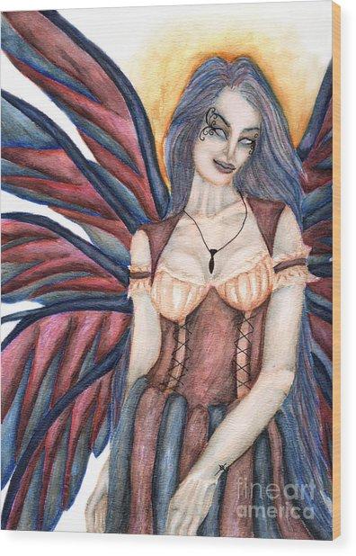 Madeleine   Something Mysterious And Strange II Wood Print by Coriander  Shea