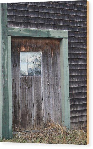 Madeline's Barn - Light In The Dark Wood Print by Nina-Rosa Duddy