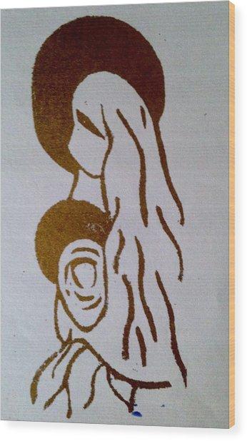 Madonna 2 Wood Print