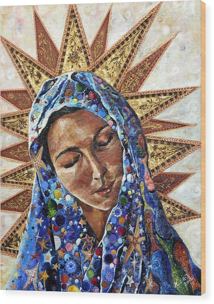 Madonna Of The Dispossessed Wood Print