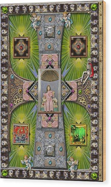 Madonna Of Valladolid Mexico Wood Print