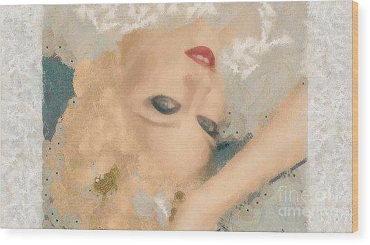 Madonna Wow Wood Print
