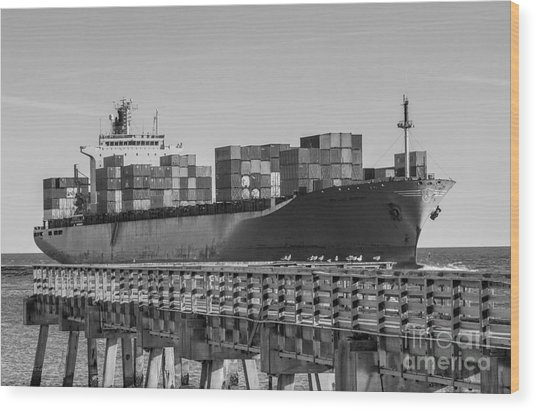 Maersk Shipping Line Wood Print