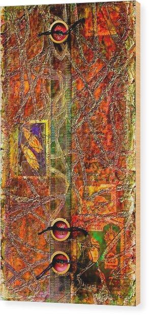Magic Carpet Wood Print
