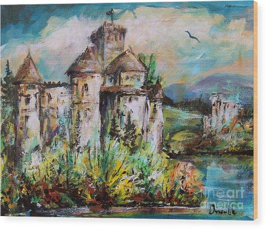 Magical Palace Wood Print