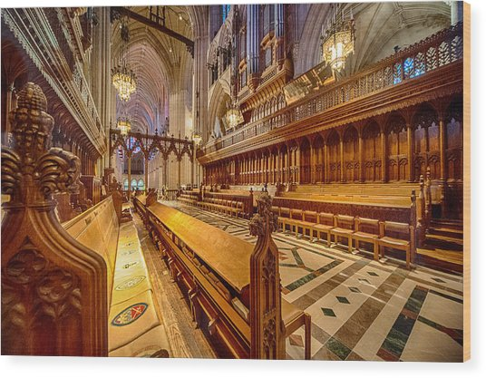 Magnificent Cathedral I Wood Print