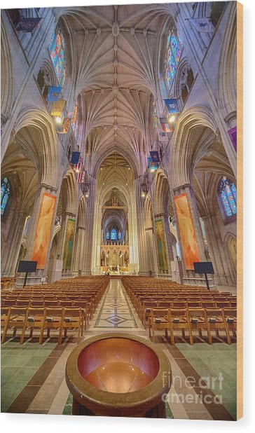 Magnificent Cathedral V Wood Print