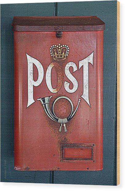 Mail Call Wood Print