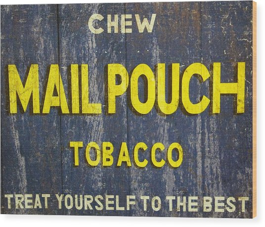 Mail Pouch Tobacco Wood Print