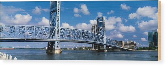 Main Street Bridge, Jacksonville Wood Print