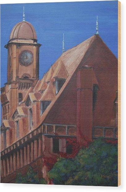 Main Street Station Wood Print