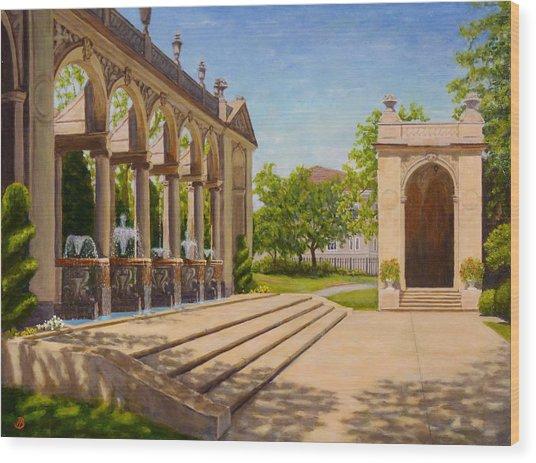 Majestic Entrance Wood Print