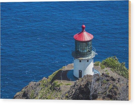 Makapuu Lighthouse 3 Wood Print