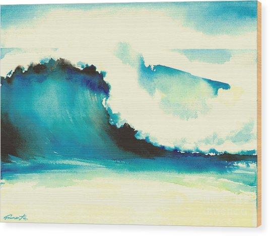 Makena Maui Wood Print