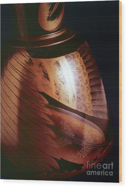 Makie-3 Wood Print by Tad Kanazaki