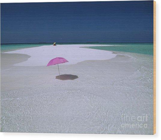 Maldives 04 Wood Print by Giorgio Darrigo