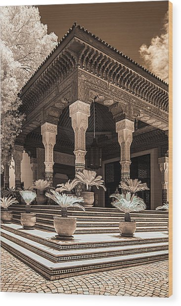 Mamounia Hotel In Marrakech Wood Print