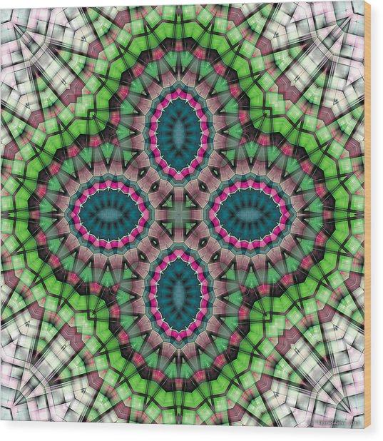 Mandala 111 Wood Print