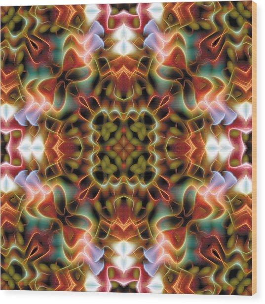 Mandala 120 Wood Print