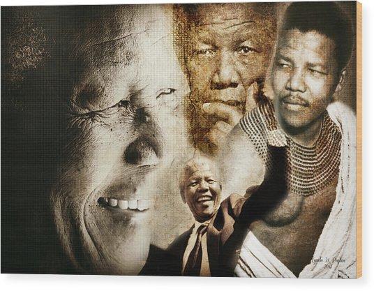 Mandela Journey Wood Print
