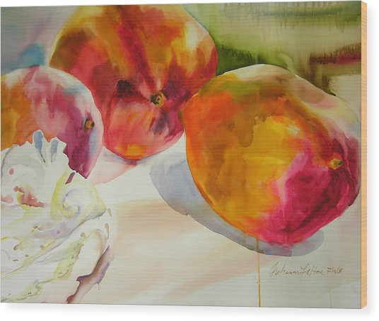 Mangoes  Wood Print