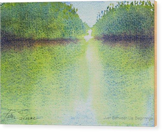 Mangrove Light #1 Wood Print